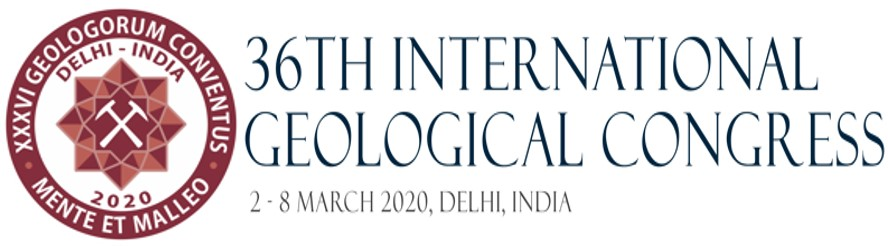 36th International Geological Congress, 2-8 de março 2020, Delhi, Índia